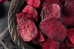 Zdravý recept na chipsy z červenej repy