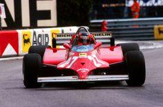Gilles Villeneuve, Ferrari 126CK, 1981 Monaco GP, Monte Carlo