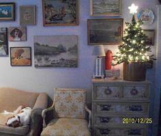 Willy Wonka sleeping early Christmas morning