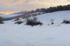 portfolio of the oil landscape paintings and prints of artist John MacDonald of the Berkshires in Williamstown Massachusetts. Winter Landscape, Landscape Art, Landscape Paintings, Winter Pastels, Seascape Paintings, Canvas Paintings, Painting Snow, John Mcdonald, Landscaping