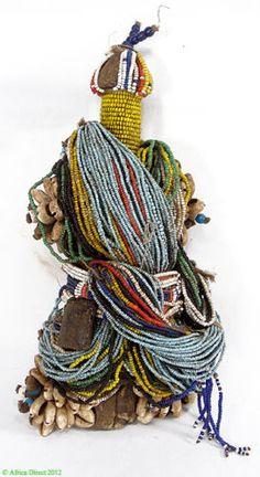 Fali Fertility Doll Cowrie Shells Trade Beads Africa Sale Was $350 | eBay