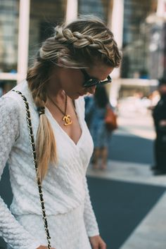 White Jumpsuit Barefoot Blonde by Amber Fillerup Clark