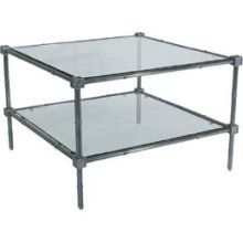 Jonathan Adler two-tier coffee table