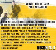I #megaloidi faranno un tour in italia!