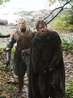 Brienne of Tarth & Jaime Lannister, still my favorite plot on the show so far