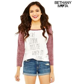Bethany Mota Fashion Line at Areopostale! OMG I LOVE HER !!!!