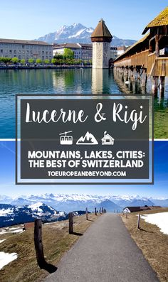 Rigi and Lucerne are the living proof that Switzerland is pretty damn close to perfection. Accessible mountains. Pristine turquoise lake. Historic cities with lavish waterfront hotels. If what you're after is the ultimate Helvetic postcard, then Rigi and Lucerne is where you need to be. http://toeuropeandbeyond.com/rigi-lucerne-things-to-do/ #travel #Switzerland