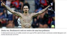 http://filipe-vala.com/e/zlatan-ibrahimovic Zlatan Ibrahimovic deu a conhecer ao mundo, através das tatuagens no seu corpo ( não defenitivas ) o nome de 50 pessoas.