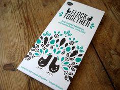 Flock Together Exhibition leaflet | Flickr - Photo Sharing!