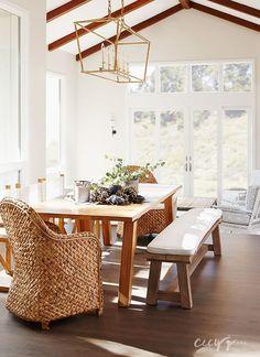 Rustic Refined Home Decor Style