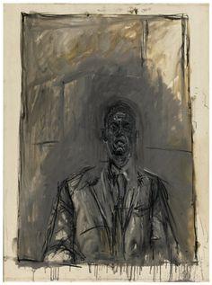 """Alberto Giacometti's """"Portrait de Maurice Lefebvre-Foinet"""""""