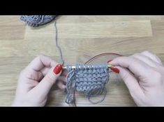 Navajo technika pletení z trojité příze, Navajo knitting - YouTube