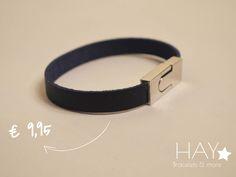 Subtiele armband | Donkerblauw
