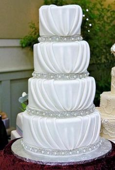 Crystal Wedding Cakes