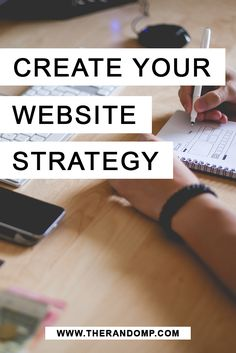 Create website strategy for your own website & gain more leads! http://therandomp.com/blog/create-strategy-for-your-website
