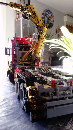 Cool Lego, Awesome Lego, Lego Truck, Lego Ship, Lego Construction, Lego Worlds, Lego Models, Legoland, Lego Creations
