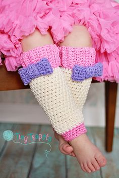 Girls Leg Warmers Crochet Leg Warmers Robins Egg by TinyTeapots