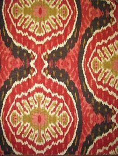 Duralee Suburban Home Fabric Yardage Ikat by MarleyMaterial