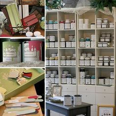 The Village Emporium in Charlotte, NC.  Lots of great items from many vendors!  They sell Paint Couture! The Collection and have furniture painting classes!  www.paintcouture.com