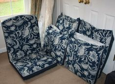 Recovering Lawn Chair Cushions - Part 1