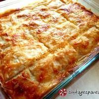 Greek cheese pie with yogurt. Brunch Recipes, Cake Recipes, Greek Cheese, Spinach Pie, Cheese Pies, Greek Cooking, Appetisers, Savoury Cake, Greek Recipes