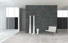 Azulev Enigma. Flis i betongstil til gulv og vegg, ute og inne. Frostsikker.