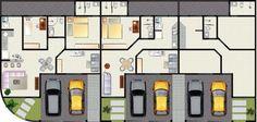 plantas-de-casas-geminadas-projetos