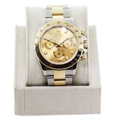 Pre-owned Rolex Daytona 116523 Two-tone Watch