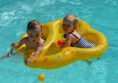 Schwimmreifen Zwillinge