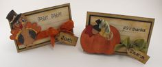 cricut projects sweet tooth boxes | The turkey and the pumpkin come from the Create a Critter cartridge.