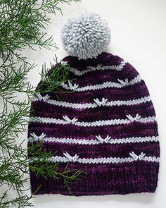 Ravelry: Project Gallery for Astrea Hat pattern by Tori Gurbisz Knitting Projects, Crochet Projects, Knitting Patterns, Knitting Ideas, Kids Patterns, Hat Patterns, Pom Pom Maker, Looks Black, Knit Picks