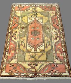 Linens & Textiles (pre-1930) Tapestry Rug Carpet Antique European Europe 20th Century Orders Are Welcome.