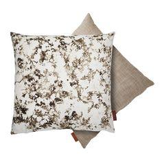 Cozy Living pude, marble - khaki - Puder - Tekstiler - Stue - Bolig