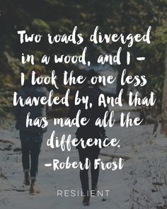 Two Roads Diverged in a Wood Art Print