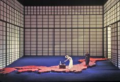 Madama Butterfly. De Vlaamse Opera. Scenic design by Paul Steinberg.