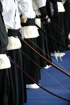 Japanese archery, Kyudo 弓道 : photo by 92san