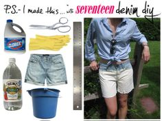 DIY Denim Projects - PS I Made This Jeans - Seventeen