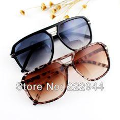a7be05ab4a29 Brand Designer New 2014 Fashion Leopard Black Vintage Dress Sunglasses For  Women US  6.98