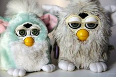 7. Furby    Furbies were seriously the shiznick when I was a kid. My whole family had Furbie's! My mom, my dad, my brother and I all had different ones…