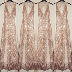 Totally in love with my sparkly dress for new years eve  *Rose gold sequin dress from Quiz Clothing*