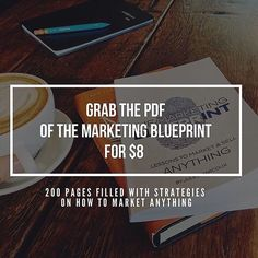 The Marketing Blueprint a marketing best seller that will give you actionable steps for different areas of your marketing strategy. Now only for the s2s community for $8. Grow yourself and your business in 2016.  Click the link in our bio  @secrets2success by secrets2success