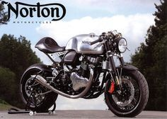 Norton Domiracer Cafe Racer ~ Return of the Cafe Racers