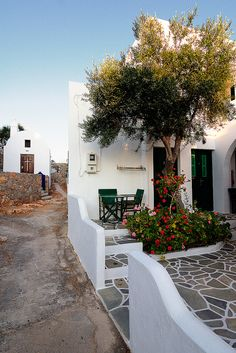 House in Folegandros, Greece