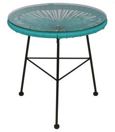 Lovely table for inside and outside use. http://www.landromantikk.no/mobler/bord-stoler/mamasita-bord.html