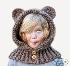 Cómo tejer una adorable capucha crochet con orejas de gato d7b476e68c0