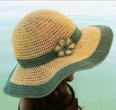Crochet Summer Hat - Free Pattern | Beautiful Skills - Crochet Knitting Quilting | Bloglovin'