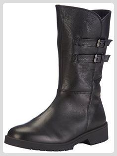 Ganter ELLEN-STIEFEL, Weite G, Damen Halbschaft Stiefel, Schwarz (schwarz 0100), 39 EU (6 Damen UK) - Stiefel für frauen (*Partner-Link)