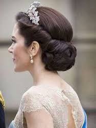 Image result for tiara updos for weddings