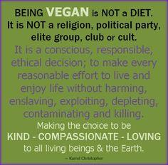 #vegan is?