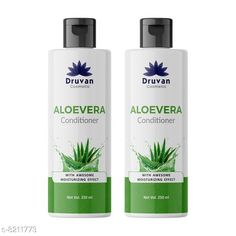 Conditioner Druvan Cosmetic Aloevera Conditioner For Hair Growth pack of 2 (250ml)  Product Name: Druvan Cosmetic Aloevera Conditioner For Hair Growth pack of 2 (250ml)  Brand Name: Druvan Cosmetic Hair Type: All Hair Type Flavour: Aloe Vera Multipack: 2 Country of Origin: India Sizes Available: Free Size   Catalog Rating: ★4.1 (294)  Catalog Name: Druvan Cosmetic Sensational Natural Conditioner CatalogID_1368165 C166-SC2040 Code: 342-8211773-897